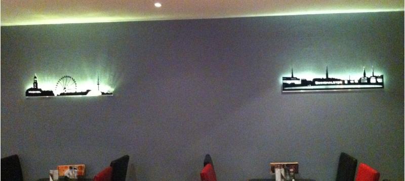 Wandbild Mit Beleuchtung Stunning Wandbild Mit Beleuchtung With